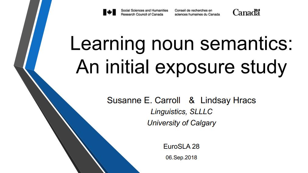 Noun Semantics Presentation